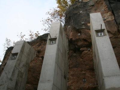 Betonové pilíře 02