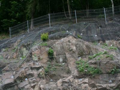 Ocelové sítě a těžký plot 01