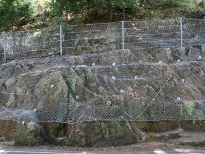 Ocelové sítě a těžký plot 03