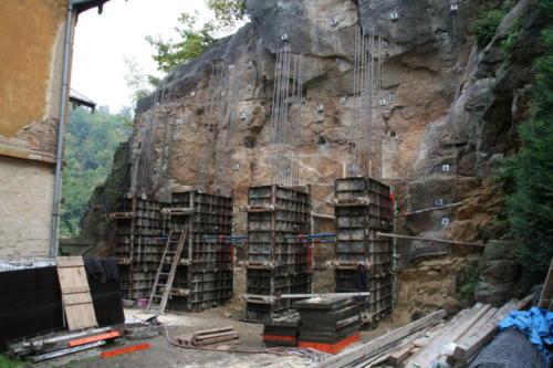 Bednění betonových pilířů