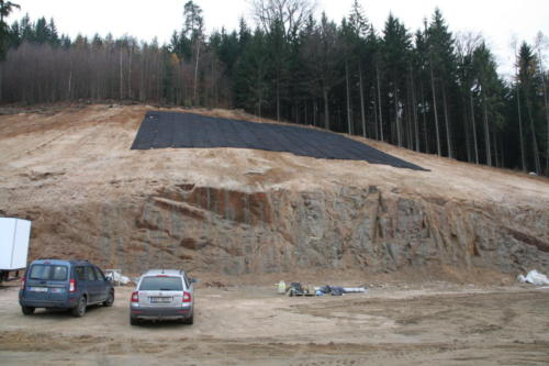 Instalace georohoží